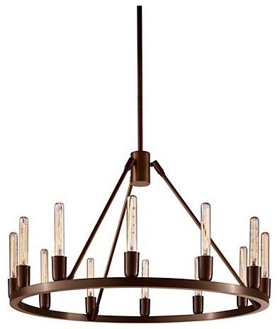 Spark 24 Modern Chandelier modern-chandeliers