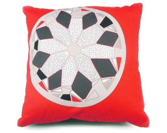 Sasquan Cushion - Orange -