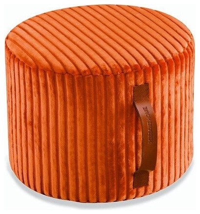 Coomba Cylindrical Pouf Ottoman modern-footstools-and-ottomans