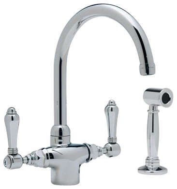 Rohl Kitchen A1676LMWSTCB-2 Kitchen Faucet contemporary-kitchen-faucets