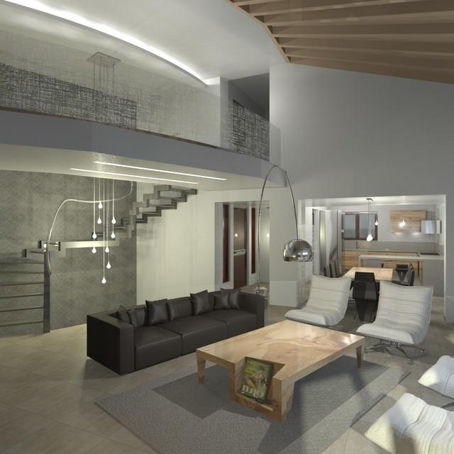 Construction in Greece contemporary-rendering