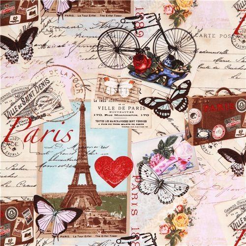 beige Vintage Paris