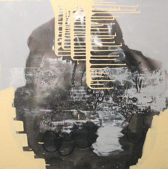 """Lucky Mountain"" Original Painting by Aisyah Ang contemporary-artwork"