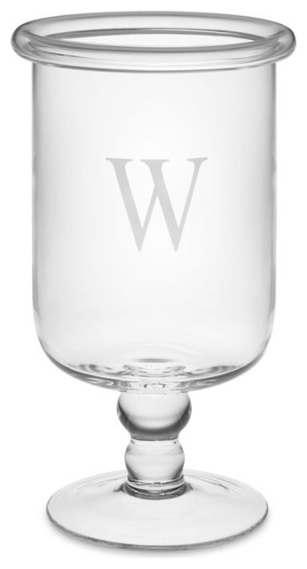 Personalized Classic Glass Hurricane traditional-candles-and-candleholders