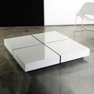 Square Center Table Designs : Modloft  Dean Square Coffee Table - Modern - Coffee Tables