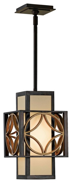 """Contemporary Feiss Remy Collection 8"""" Wide Pendant Light Fixture contemporary-chandeliers"""