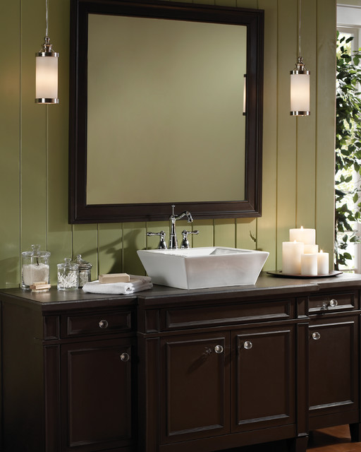 Bridgeport pendant bathroom vanity lighting by tech lighting for Pendant lighting for bathroom vanity