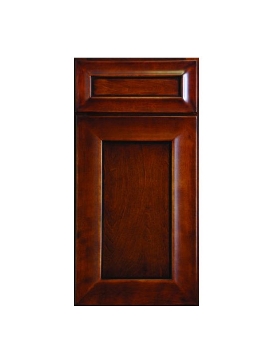 "WAVE HILL / Assembled Kitchen Cabinets - Full Overlay Door Style - 3/4"" Solid Birch Face-Frame"