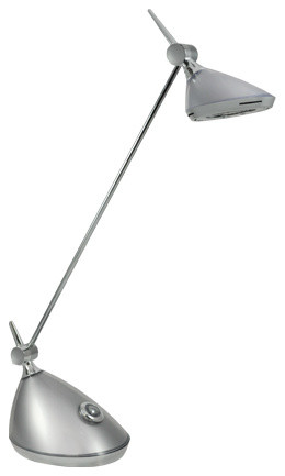 Bulbrite 40W Replacement (6W) Slyng LED Desk Lamp with Touch Dimmer lamp-shades