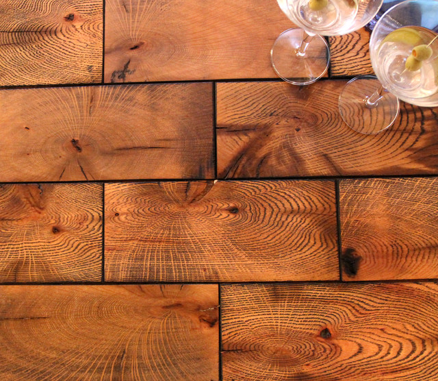 Crosscut Wood Flooring : Crossroads cross cut end grain reclaimed mixed red and