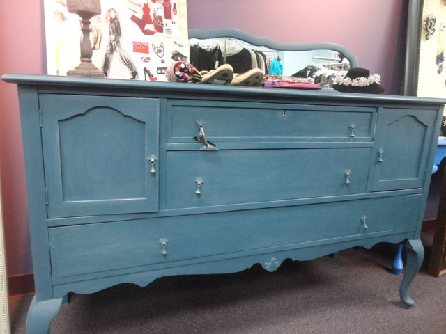 Annie Sloan Chalk Paint furniture pieces - Modern - Buffets And Sideboards - dc metro - by On ...