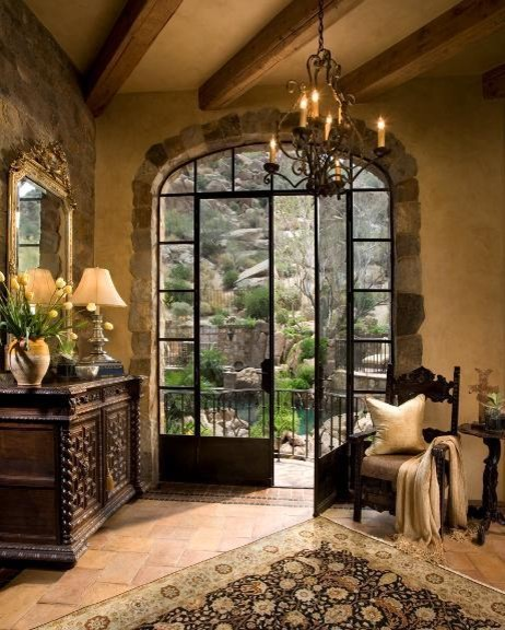 HJR Rugs - A Room With A View (HJR-27) mediterranean-entry