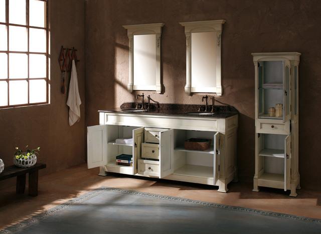 "72"" Bosco Double Bath Vanity - Antique White traditional-bathroom-vanities-and-sink-consoles"