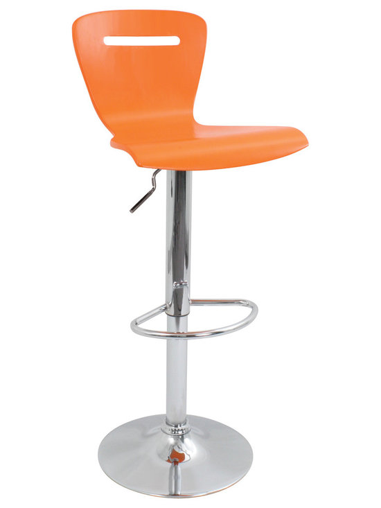 H2 Bar Stool - ORANGE