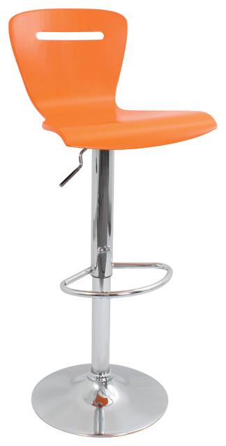 H2 Bar Stool - ORANGE contemporary-bar-stools-and-counter-stools