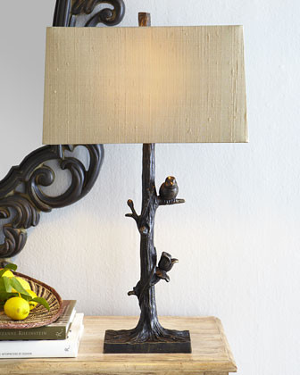 Arteriors Bird Lamp traditional-lamp-shades