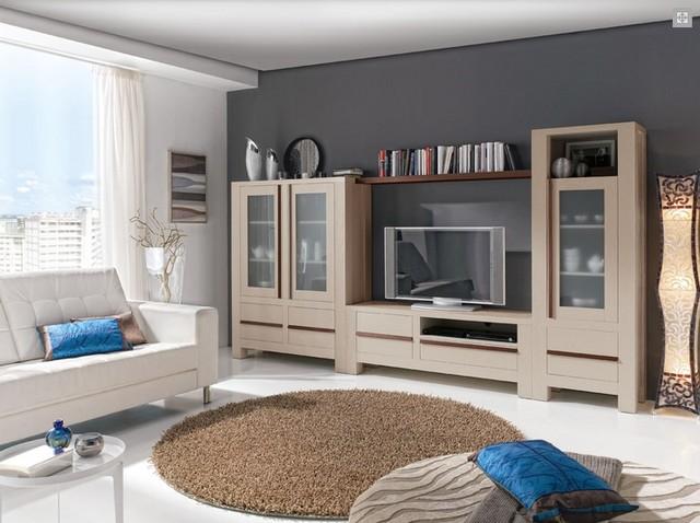 Comedor colonial contemporary-living-room