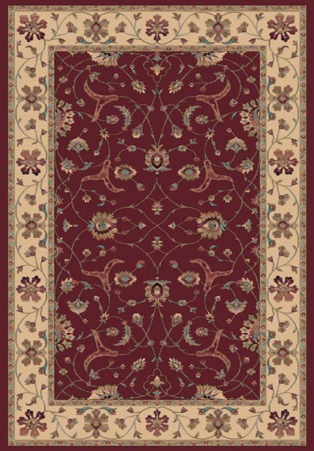 """Radiance 43005-1464 9'2"""" x 12'10"""" Red Rug contemporary-rugs"""