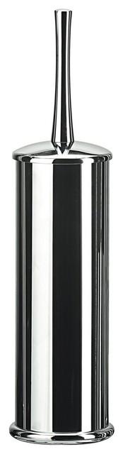 Koko 5050KK Toilet Brush Holder in Chrome contemporary-toilet-brushes-and-holders