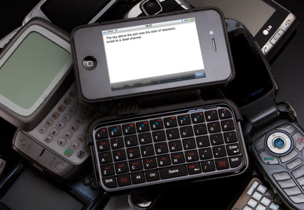 iPhone Case with Flip-Out Keyboard home-electronics