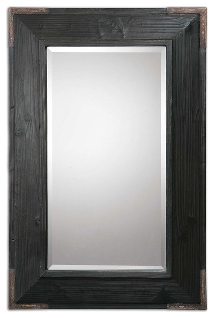 Carino Wood Mirror traditional-mirrors