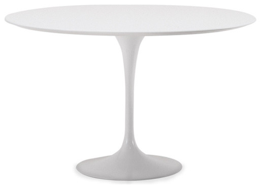 Saarinen Dining Table - white laminate - hivemodern.com modern-dining-tables