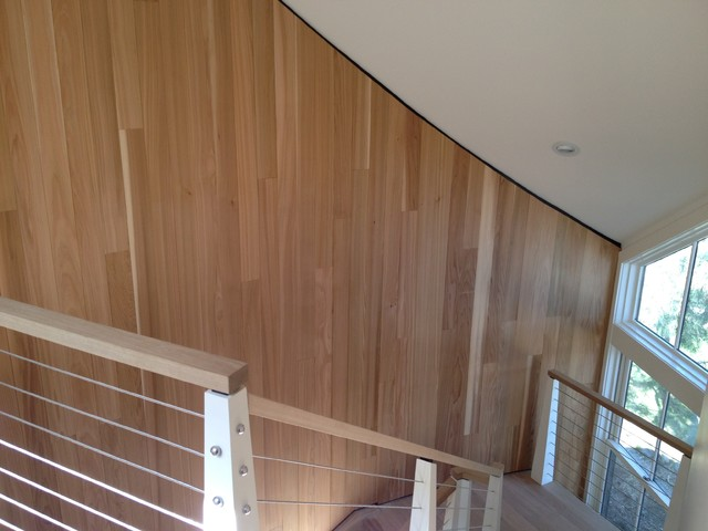 Clifton Heights Lane, Marblehead contemporary staircase