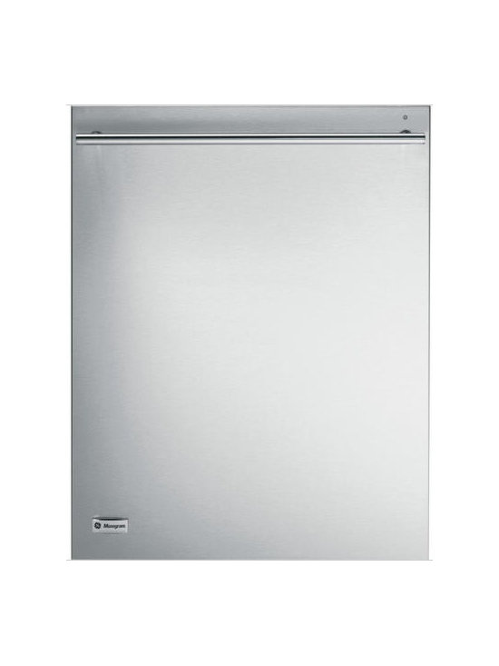 GE Monogram Fully Integrated Dishwasher - This dishwasher has 8 Cycles, Steam PreWash, Bulk Dispense Technology, High Intensity Xenon Lights and Quiet Operation.