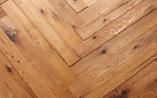 Uniquely patterned floors