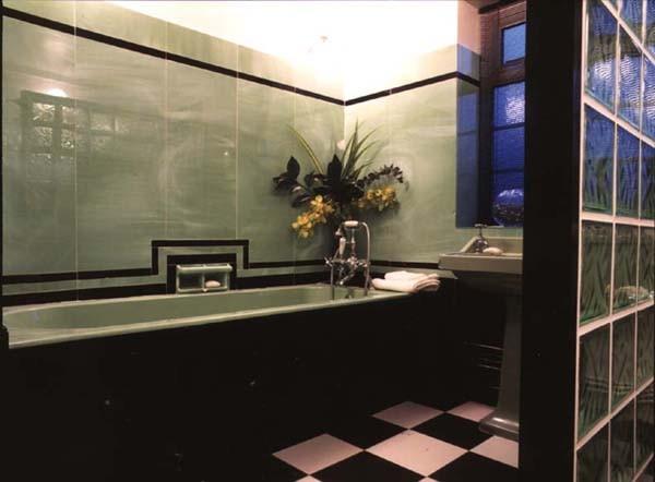 art deco bathroom traditional bathroom london by adrienne chinn design. Black Bedroom Furniture Sets. Home Design Ideas