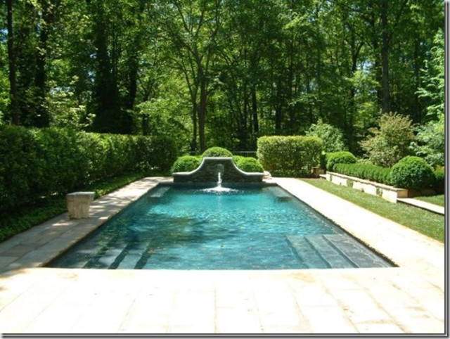 Howard Design Studio traditional pool