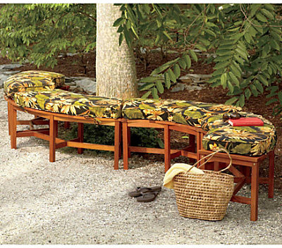 Curved Fire Pit Bench Contemporary Indoor Benches By Improvements Catalog