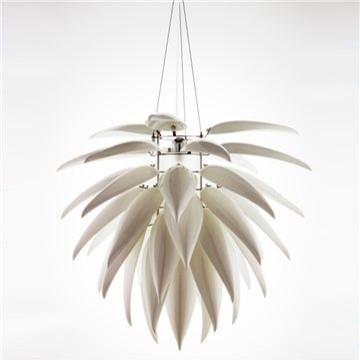 Jeremy Cole Aloe Blossom Suspension Lamp modern-pendant-lighting