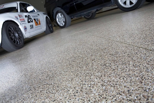 Laminate Flooring Garage