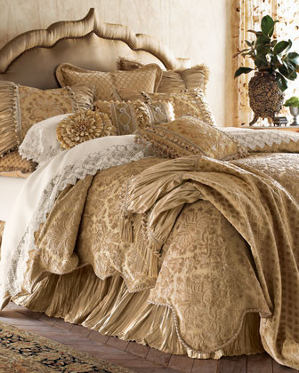 SWEET DREAMS. Kedleston Bed Linens Queen Duvet Cover, 96 x 92 traditional-duvet-covers