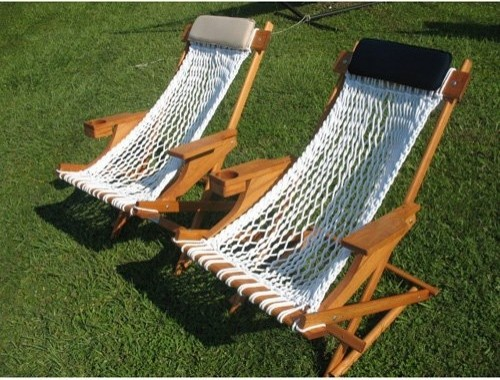 Outer Banks Rope Rocker contemporary-outdoor-lounge-chairs