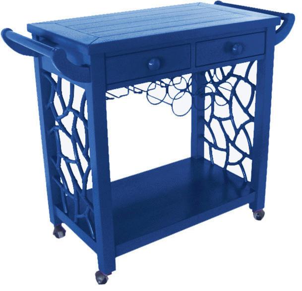 The Hostess Bar Cart modern-bar-carts