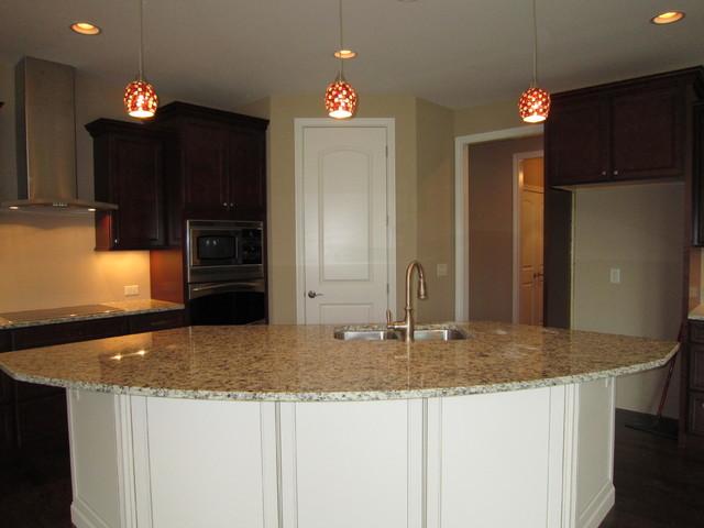 Custom Home:  13 RA traditional-kitchen