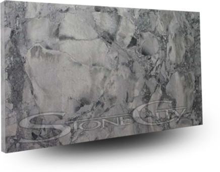 Brazillian Arabescato Quartzite Slab contemporary kitchen countertops