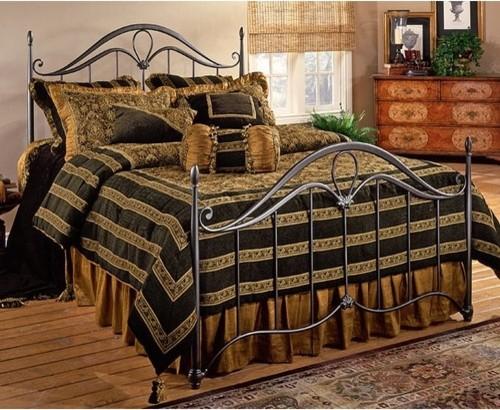 Kendall Metal Bed modern-beds