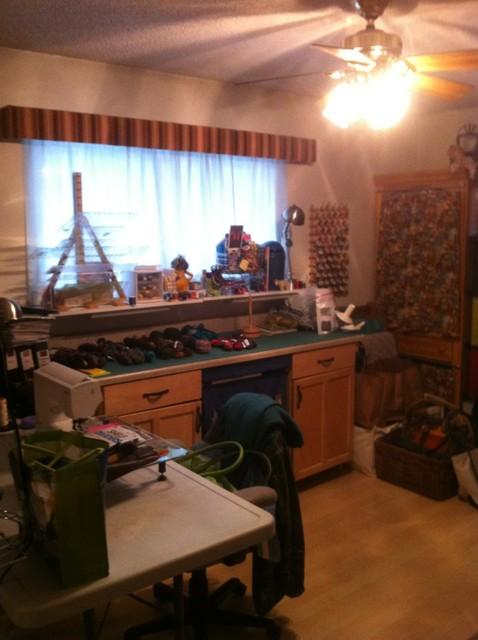 Craft Room Remodel contemporary