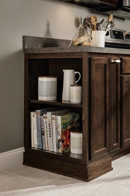 Aristokraft Open Shelves Base Cabinet - Kitchen Drawer Organizers - other metro - by MasterBrand ...