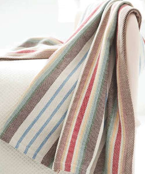 dash and albert cotton throw blanket contemporary