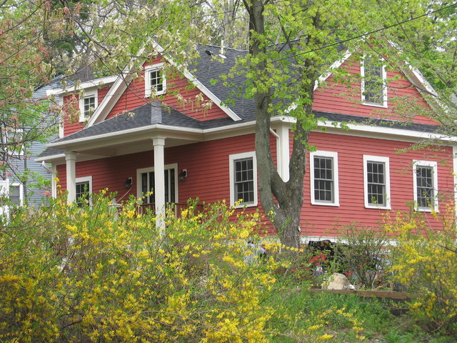 New House Design Built in Historic District traditional
