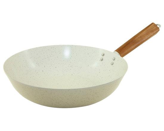 Sabatier non-stick large stir fry wok -