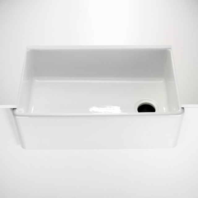Apron Sink For Bathroom : ... Apron Kitchen Sink - Traditional - Bathroom Sinks - by Waterworks