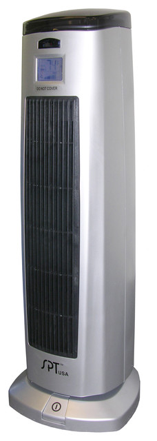 Tower Ceramic Heater with Ionizer contemporary-space-heaters