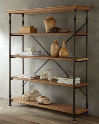 Winston Bookcase traditional-bookcases