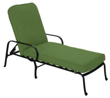 Hampton Bay Chaise Lounge. Fall River Adjustable Patio Chaise Lounge with Moss C contemporary-indoor-chaise-lounge-chairs