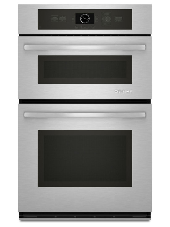 """Jenn-Air 27"""" Combination Microwave/wall Oven, Stainless Steel/Black 